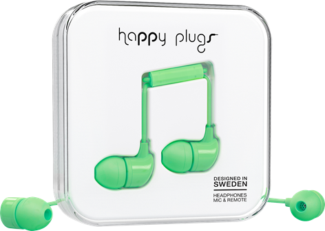 Happy Plugs In-Ear Mint