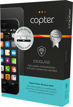Copter Exoglass Curved Nokia 8