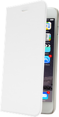 iZound Slim Wallet iPhone 6/6S Plus White