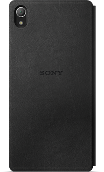 Sony Style-Up Cover SCR30 Z3+ Black