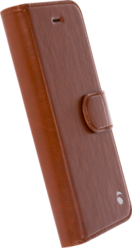 Krusell Ekerö Foliowallet 2in1 iPhone 7/8 Cognac