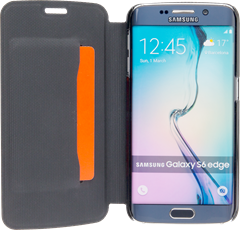 iZound Slim Wallet Samsung Galaxy S6 Edge Black