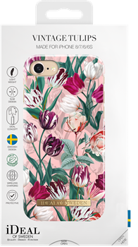 iDeal of Sweden Fashion Case iPhone 6/6S/7/8/SE Vintage Tulips