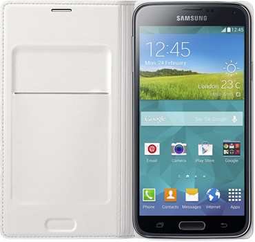 Samsung Flip Wallet Galaxy S5 White