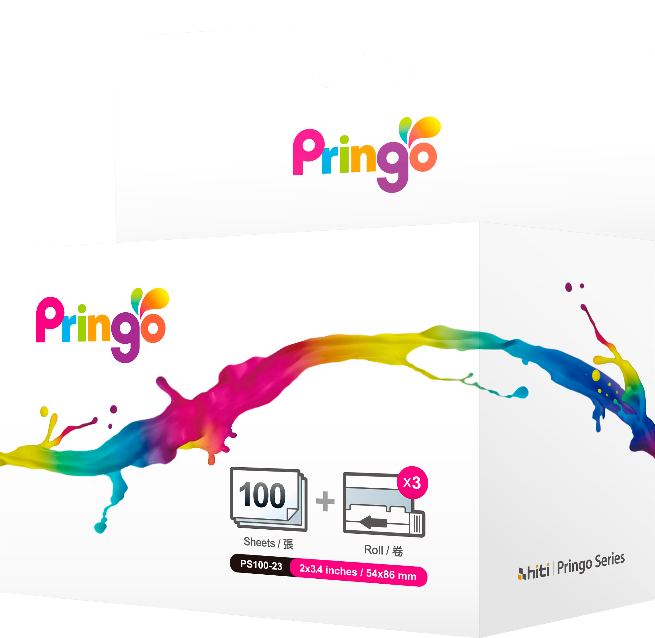 Läs mer om Pringo Catridge and Photo Paper 30-Pack