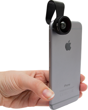 Apexel APL-FCFWM 3-in-1 Phone Lens