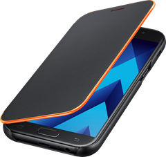Samsung Neon Flip Cover Galaxy A5 (2017) Black
