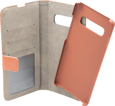 iZound Magnetic Wallet Samsung Galaxy S10 Plus Brown