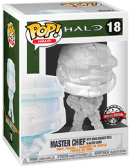 Funko POP Exclusive Halo - Master Chief Active Camo