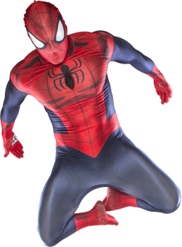 Morphsuit Spider Man Large