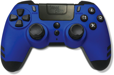 Steelplay PS4 Wireless Controller - Blue