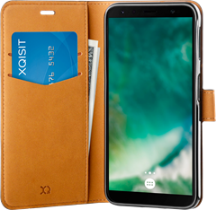 Xqisit Slim Wallet Selection Samsung Galaxy A7 (2018) Black