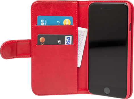 iZound Wallet Case iPhone 7/8 Red