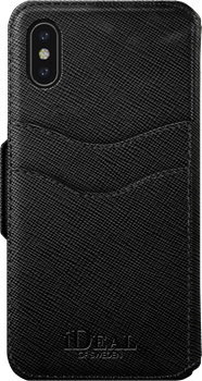 iDeal of Sweden Fashion Wallet iPhone X/XS Black