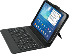 Belkin Slim Keyboard Galaxy Tab 3 10.1 Black