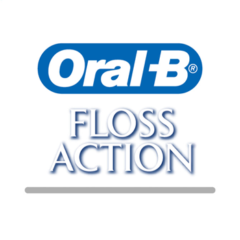 Oral-B Floss Action refillborstar 2-pack