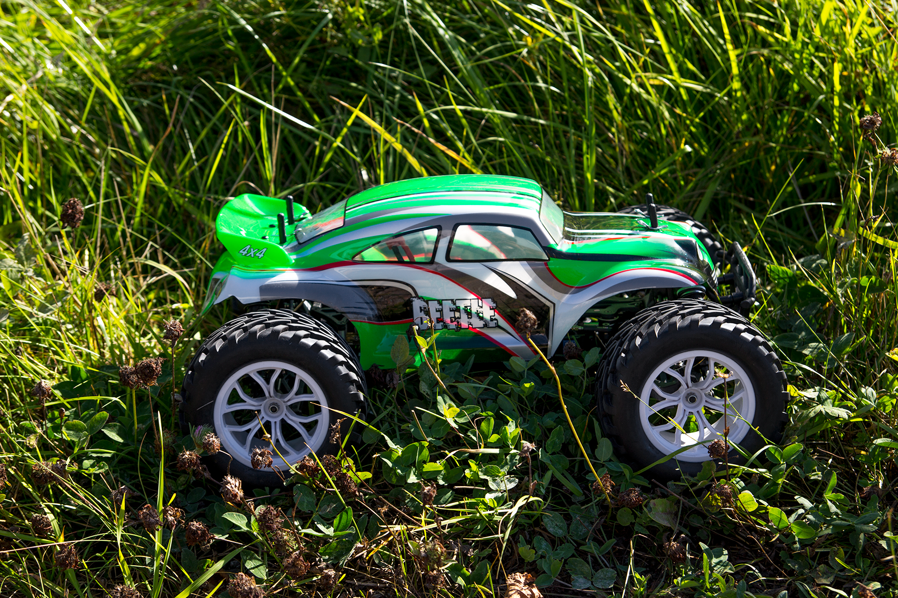 Beetle 1:10 Brushless MonsterTruck 4WD 2,4GHz thumbnail