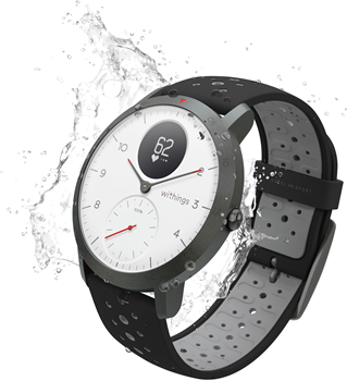 Withings Steel HR Sport - White
