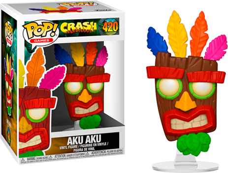 Funko POP Crash Bandicoot - Aku Aku