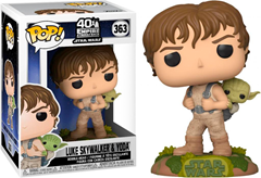 Funko POP Star Wars - Training Luke with Yoda
