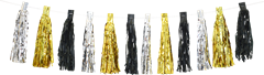 Tassel Garland Silver And Gold
