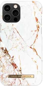iDeal of Sweden Fashion Case iPhone 12/12 PRO Carrara Gold Marble