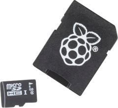 NOOBS 1.5 8GB microSD OS for Raspberry Pi