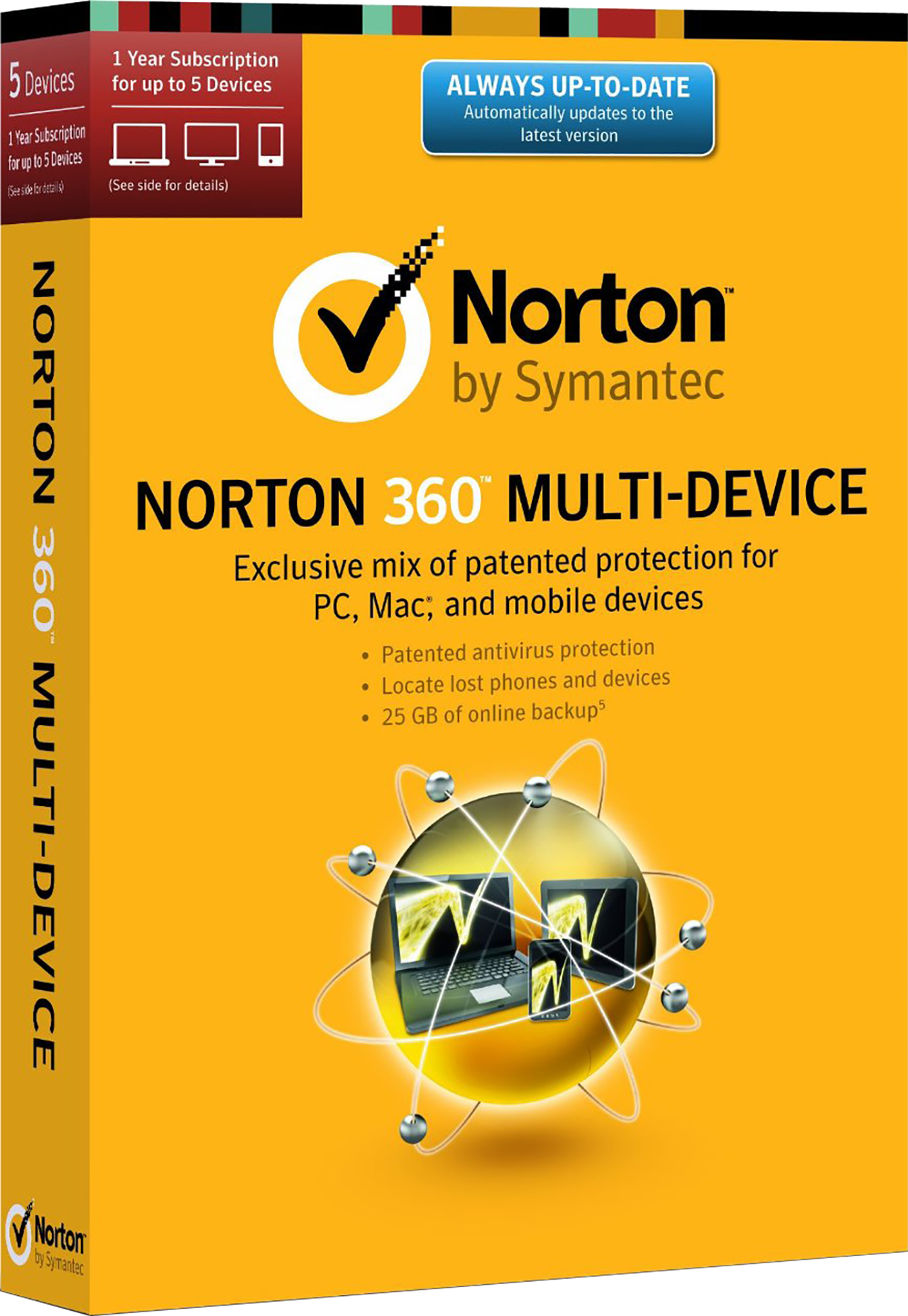 Läs mer om Norton Security 2.0 ND 1 User 5 Devices