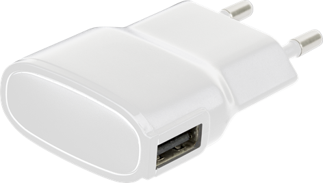 X-Power USB Charger 1A White