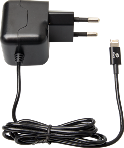 iZound Lightning Wall Charger 2,4 A Black
