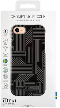 iDeal of Sweden Fashion Case iPhone 6/6S/7/8 Geometric Puzzle