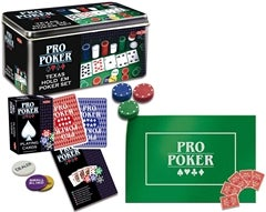 Pro Poker Texas Hold ́em Plåtask