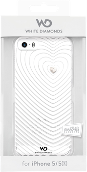 White Diamonds Heartbeat iPhone 5/5S White