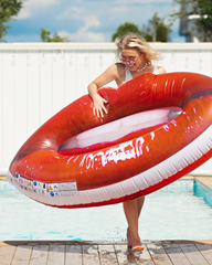Pool Float Sweet Lips