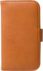 iZound Leather Wallet Case Samsung Galaxy S4 Brown