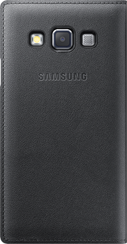 Samsung Flip Cover Galaxy A3 Charcoal
