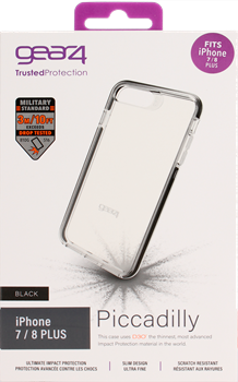 Gear4 Piccadilly iPhone 6/7/8 Plus Black