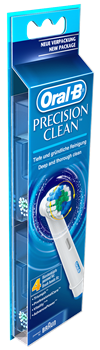 Oral-B Precision Clean refillborstar 4-pack