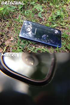Wide-and-Macro Phone Lens