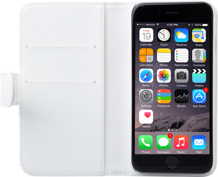 iZound Wallet Case iPhone 6/6S White