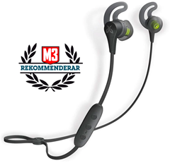 JAYBIRD X4 Black Metallic Micro-Sized, Secure-Fit Sport Bluetooth Buds