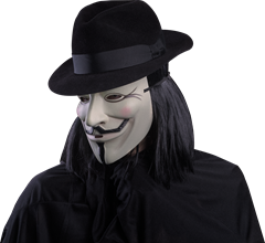 Maskerad Mask V for Vendetta