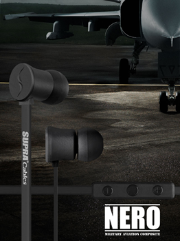 Supra Headphones NERO Black