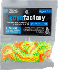 Yoyo Factory Polyester Strings
