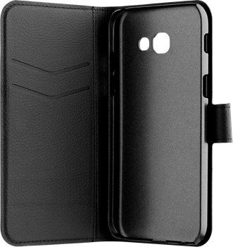 Xqisit Slim Wallet Samsung Galaxy A5 (2017) Black