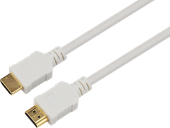 HDMI 1.4 Cable White 1m