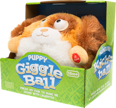 Puppy Giggle Ball