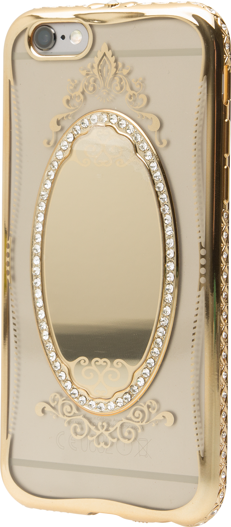 Läs mer om iZound Mirror Case Deluxe iPhone 6/6S Gold