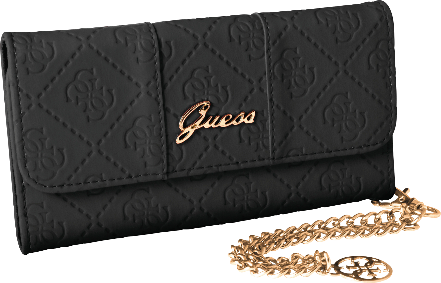 Läs mer om Guess Clutch Case Scarlett iPhone 5/5S Black