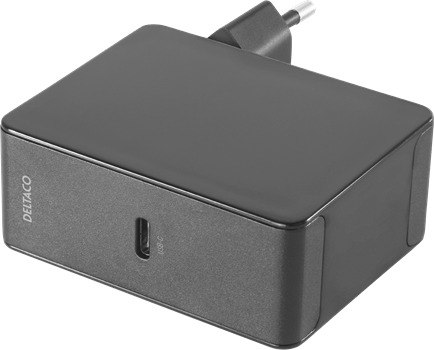Deltaco USB-C PD Wall Charger 45 W